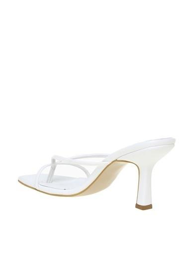 Fabrika Fabrika Beyaz Topuklu Ayakkabı Beyaz